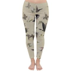 Vintage Old Fashioned Antique Classic Winter Leggings