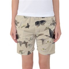 Vintage Old Fashioned Antique Women s Basketball Shorts