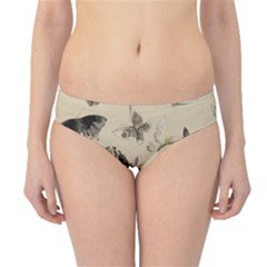 Vintage Old Fashioned Antique Hipster Bikini Bottoms