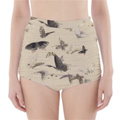 Vintage Old Fashioned Antique High Waisted Bikini Bottoms