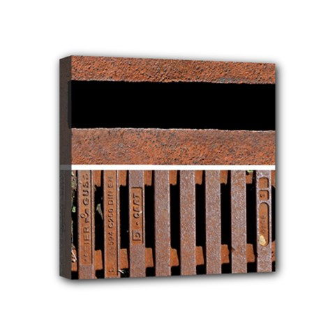Stainless Structure Collection Mini Canvas 4  X 4