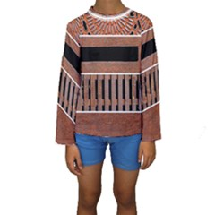 Stainless Structure Collection Kids  Long Sleeve Swimwear