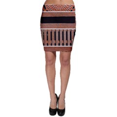 Stainless Structure Collection Bodycon Skirt