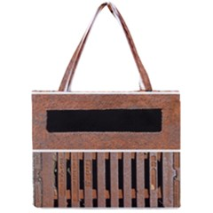 Stainless Structure Collection Mini Tote Bag