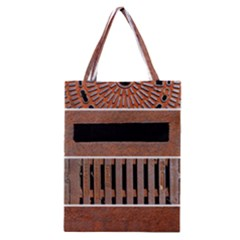 Stainless Structure Collection Classic Tote Bag