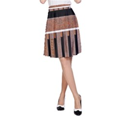 Stainless Structure Collection A Line Skirt