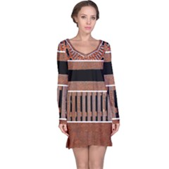 Stainless Structure Collection Long Sleeve Nightdress