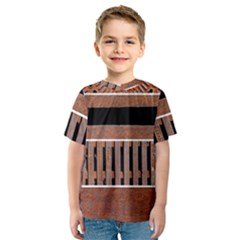 Stainless Structure Collection Kids  Sport Mesh Tee