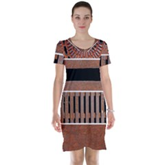 Stainless Structure Collection Short Sleeve Nightdress