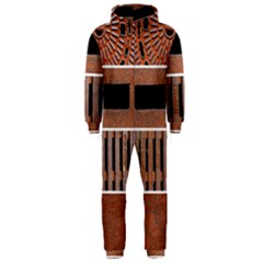 Stainless Structure Collection Hooded Jumpsuit (men)