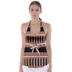 Stainless Structure Collection Babydoll Tankini Top