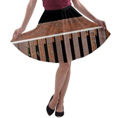 Stainless Structure Collection A Line Skater Skirt
