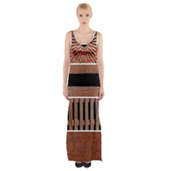 Stainless Structure Collection Maxi Thigh Split Dress