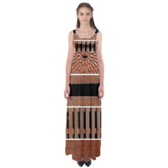 Stainless Structure Collection Empire Waist Maxi Dress