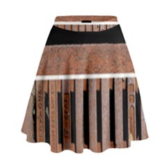 Stainless Structure Collection High Waist Skirt