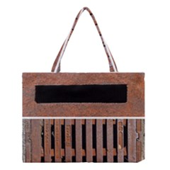 Stainless Structure Collection Medium Tote Bag