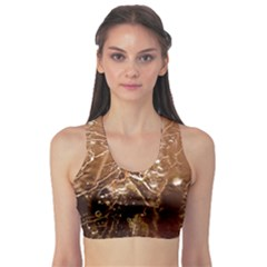Ice Iced Structure Frozen Frost Sports Bra