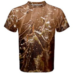 Ice Iced Structure Frozen Frost Men s Cotton Tee