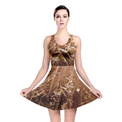 Ice Iced Structure Frozen Frost Reversible Skater Dress