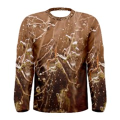 Ice Iced Structure Frozen Frost Men s Long Sleeve Tee
