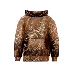 Ice Iced Structure Frozen Frost Kids  Pullover Hoodie
