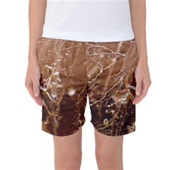 Ice Iced Structure Frozen Frost Women s Basketball Shorts