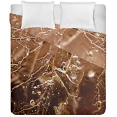Ice Iced Structure Frozen Frost Duvet Cover Double Side (california King Size)