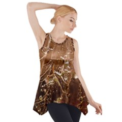 Ice Iced Structure Frozen Frost Side Drop Tank Tunic