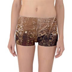 Ice Iced Structure Frozen Frost Reversible Bikini Bottoms