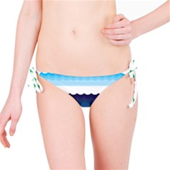 Water Border Water Waves Ocean Sea Bikini Bottom