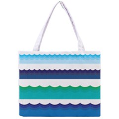 Water Border Water Waves Ocean Sea Mini Tote Bag