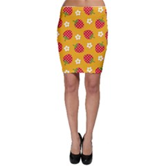 Strawberry Bodycon Skirt