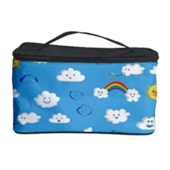 White Clouds Cosmetic Storage Case