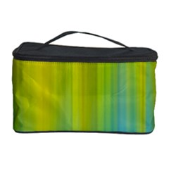 Yellow Blue Green Cosmetic Storage Case
