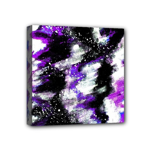 Abstract Canvas Acrylic Digital Design Mini Canvas 4  x 4