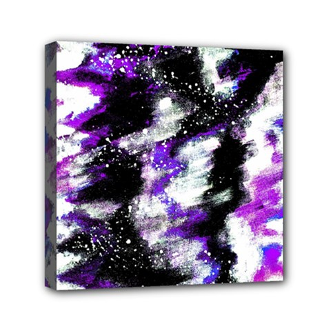 Abstract Canvas Acrylic Digital Design Mini Canvas 6  X 6