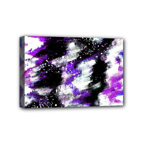 Abstract Canvas Acrylic Digital Design Mini Canvas 6  x 4