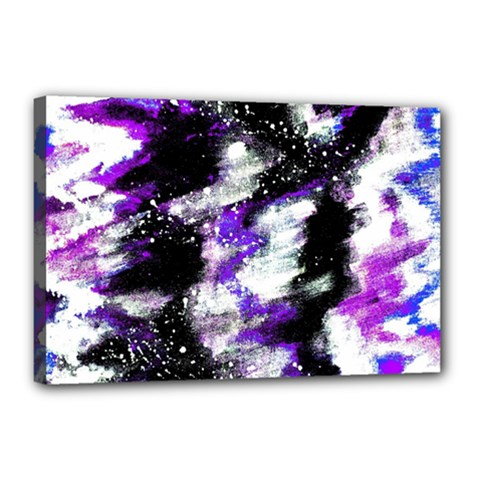 Abstract Canvas Acrylic Digital Design Canvas 18  X 12