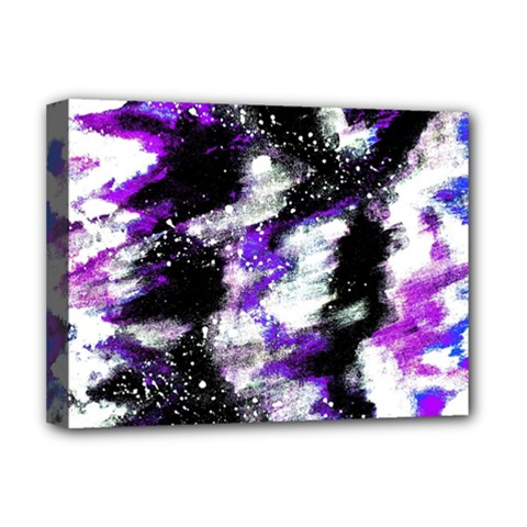 Abstract Canvas Acrylic Digital Design Deluxe Canvas 16  X 12