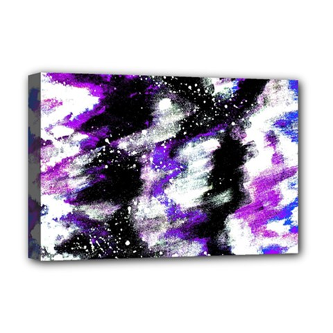 Abstract Canvas Acrylic Digital Design Deluxe Canvas 18  X 12