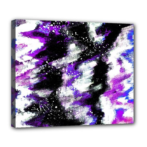 Abstract Canvas Acrylic Digital Design Deluxe Canvas 24  x 20