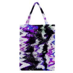 Abstract Canvas Acrylic Digital Design Classic Tote Bag