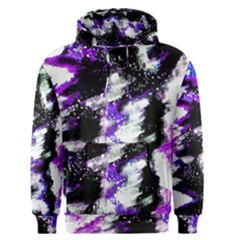 Abstract Canvas Acrylic Digital Design Men s Pullover Hoodie