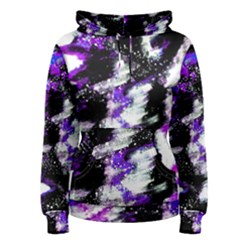 Abstract Canvas Acrylic Digital Design Women s Pullover Hoodie