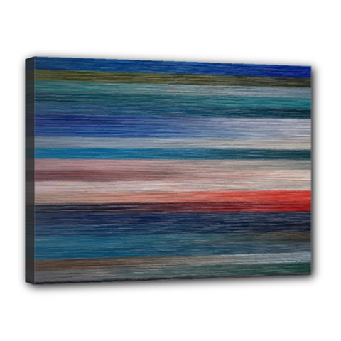 Background Horizontal Lines Canvas 16  x 12