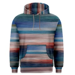 Background Horizontal Lines Men s Pullover Hoodie