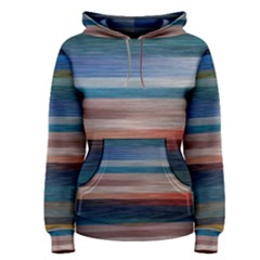 Background Horizontal Lines Women s Pullover Hoodie