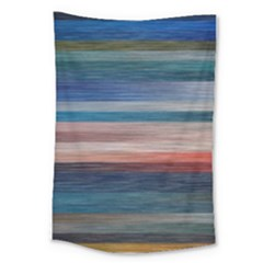 Background Horizontal Lines Large Tapestry