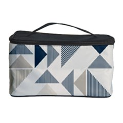 Geometric Triangle Modern Mosaic Cosmetic Storage Case