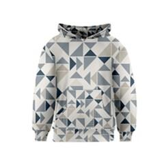 Geometric Triangle Modern Mosaic Kids  Pullover Hoodie